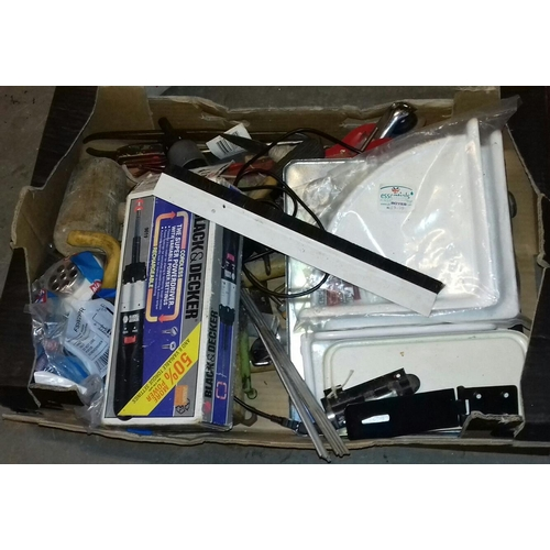 278 - Box of assorted garage and shed clearance misc....