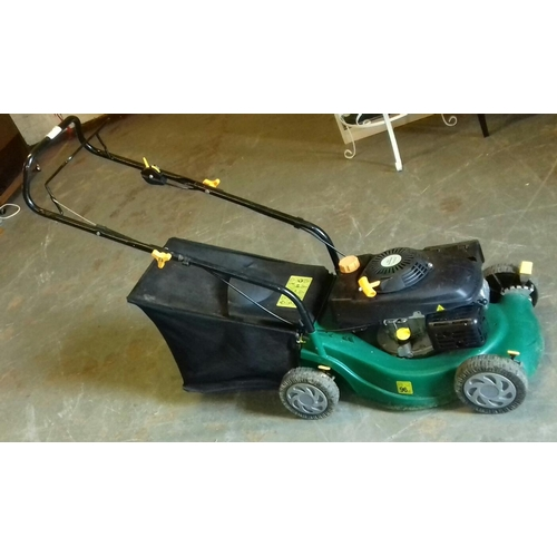 204 - Qualcast 40 cm petrol lawnmower...