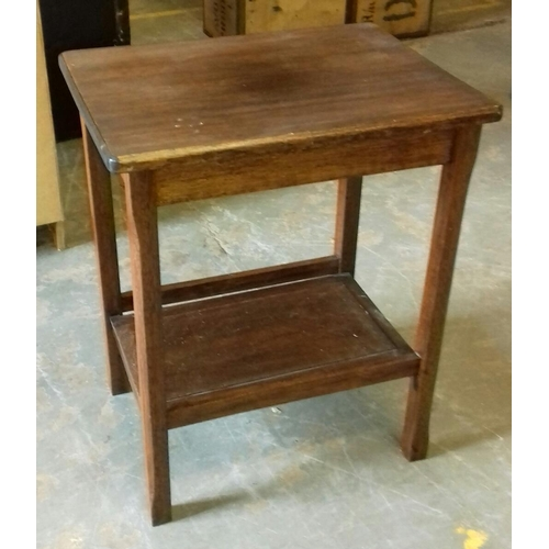 470 - 60 x 45 x 74 cm end table with under shelf...