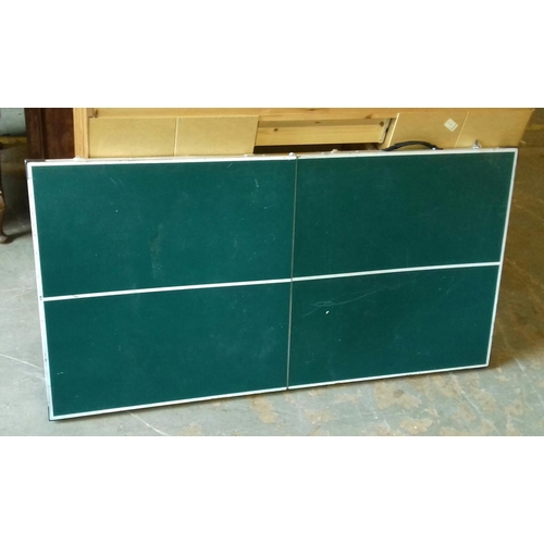186 - Fold away portable table tennis table...