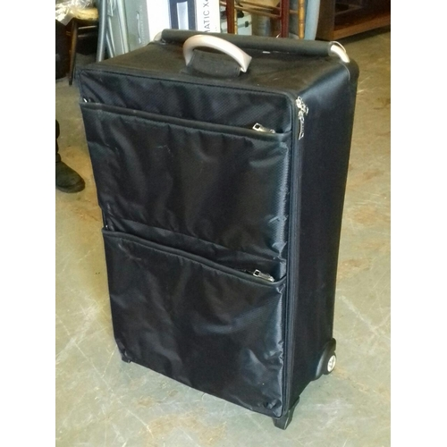 365 - Ultralight black hold luggage case...