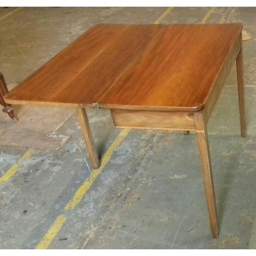 430 - 90 x 44 x 75 cm mahogany folding tea table...