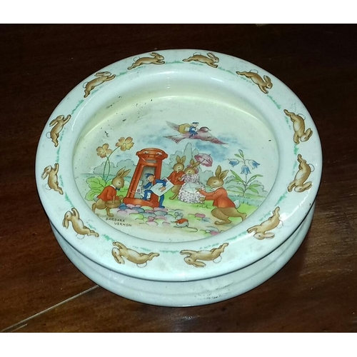 78 - Royal Doulton, Barbara Vernon, bunnykins dish...