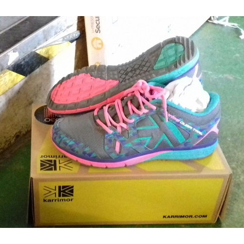 320 - Boxed karrimor D30 ladies running trainers size 7...