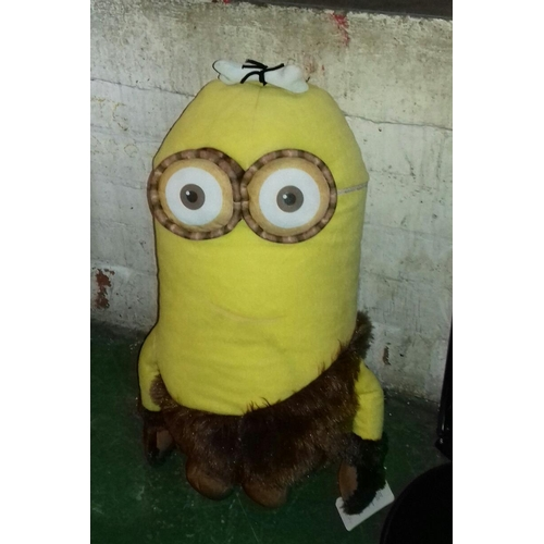 20 - Approx. 2 ft tall minion 'Kevin' soft toy...