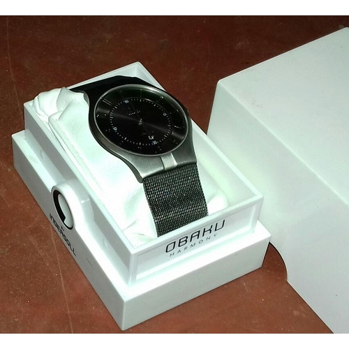 580 - Obaku harmony by Ingersoll gents watch in case serial number V122XTTMT...