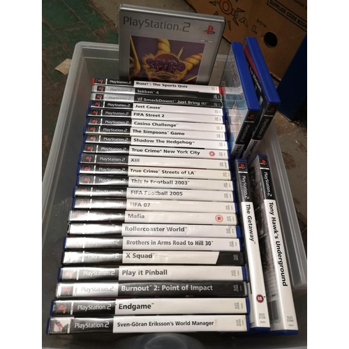 58 - Bundle of 27 x assorted PlayStation 2 games, all with booklets present...