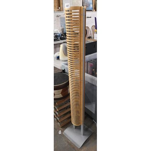 247 - 142 cm tall CD tower...