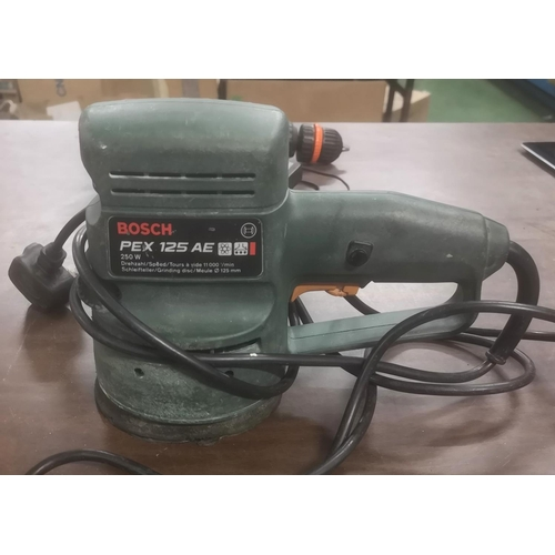 40 - Bosch corded electrical orbital sander - working on arrival...