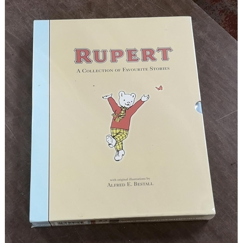 34 - New and still factory sealed Rupert Bear, a collection of favourite stories book...