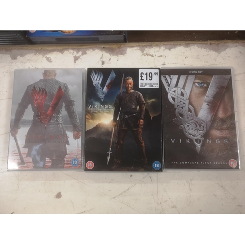 47 - Vikings seasons 1/2/3 DVD sets...