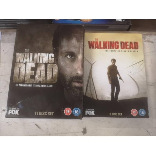 57 - The walking dead complete seasons 1/2/3/4 DVD box set...