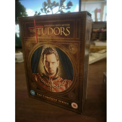 19 - The Tudors complete series DVD box set...