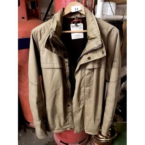 13 - Timberland gents lightweight waterproof jacket-no hood, size L...