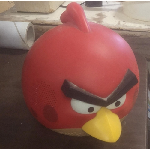 26 - Angry Birds red bird speaker - no adapter so untested...