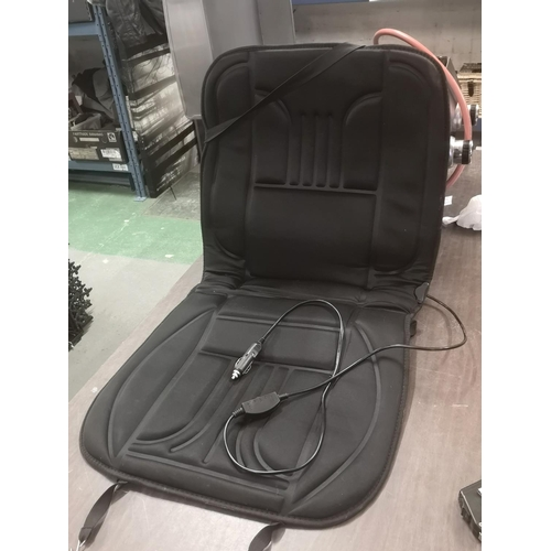 12 - 12 volt heated car seat cover...