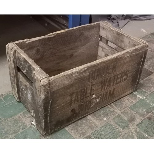 18 - 45 x 26 x 24 cm tall old wooden bottle crate for Border Table Water Wrexham...