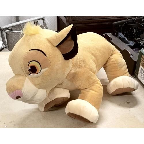 14 - 60 cm long Disney Store exclusive Simba soft toy...