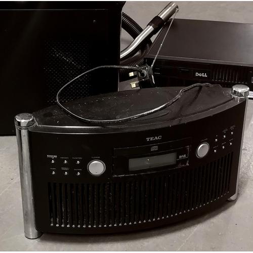 46 - Teac DAB mini lifestyle stereo system with alarm model SR-L50DAB...