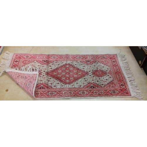 32 - Approx 92 x 48 cm Persian rug...