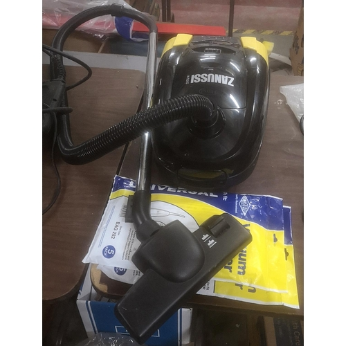 6 - Zanussi 2100 wt cylinder vac with bags...
