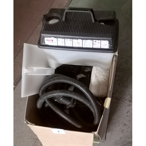 2 - Earlex SC75 steam cleaner with wall paper stripper attachment...