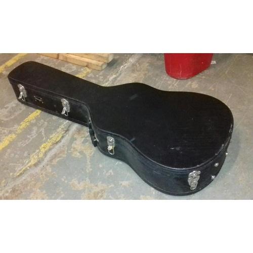2 - Stagg hard guitar case...