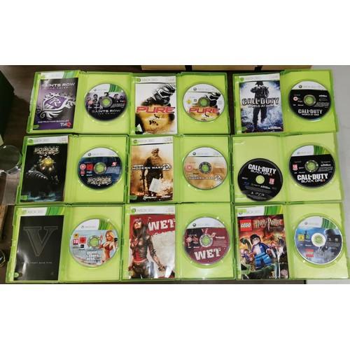 24 - Bundle of 9 x assorted Xbox 360 games...