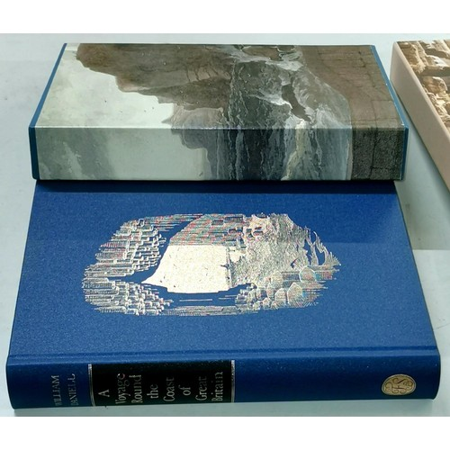 5 - As new 2008 Folio Society Voyage around the coast of Great Britain by William Daniell with outer box...