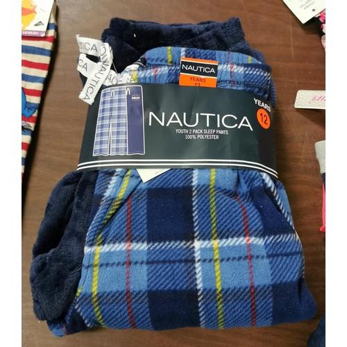 21 - New twin pack of boys sleep pants age 12...