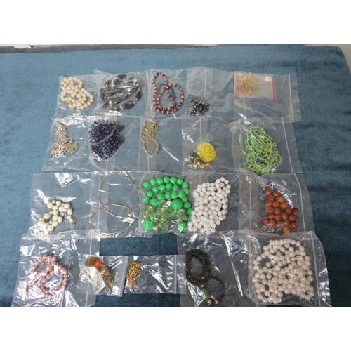 51 - Costume & Junk Jewellery x 20 pieces....