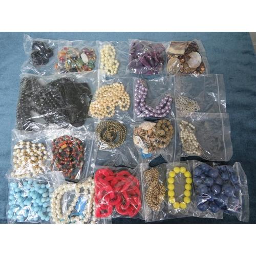 53 - Costume & Junk Jewellery x 20 pieces....