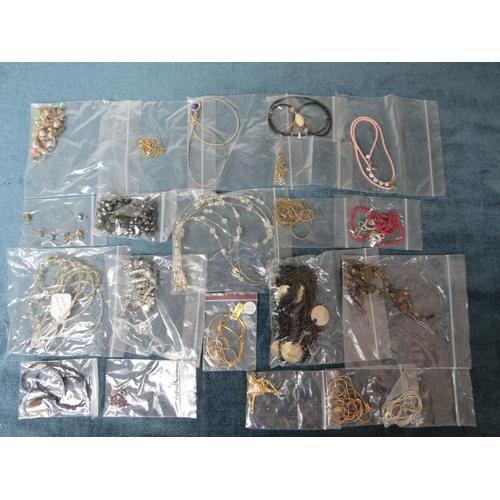 56 - Costume & Junk Jewellery x 20...