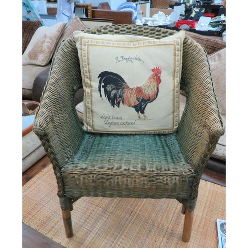 2 - Wicker Chair Including