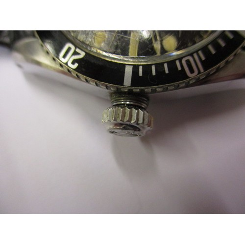 92 - A vintage Rolex oyster perpetual Submariner, approx. dial diameter 30mm marked 6538...