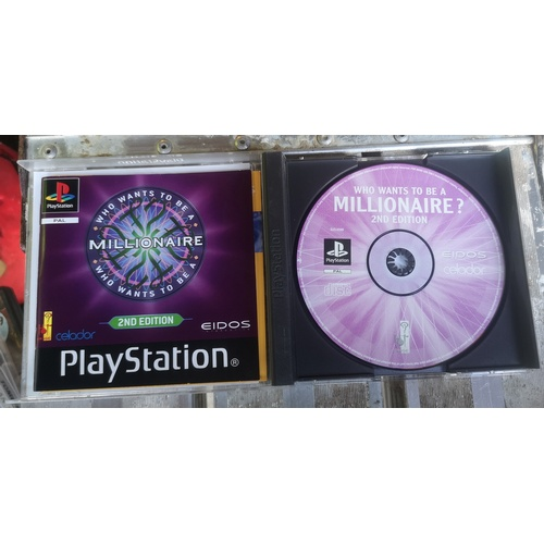 10 - Who Wants To Be a Millionaire Playstation Game - 2nd Edition...