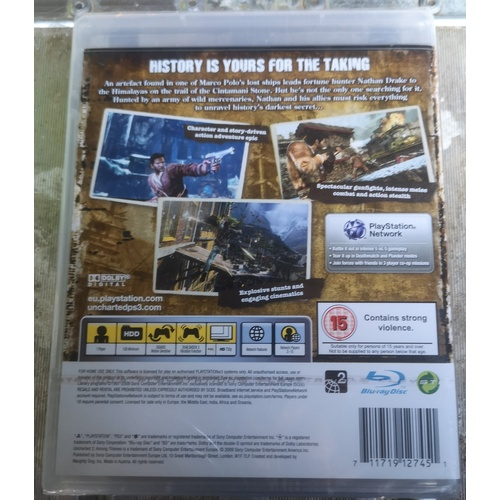 12 - Uncharted 2 Among Thieves Playstation 3 Game...