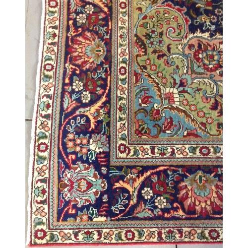 14 - Extra Large Size Superb Quality Persian Tabriz Eastern Rug  Width - 260cm Length - 340cm...