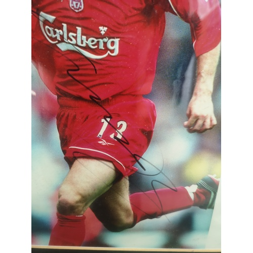 15 - Signed Liverpool FC Player Framed Picture...