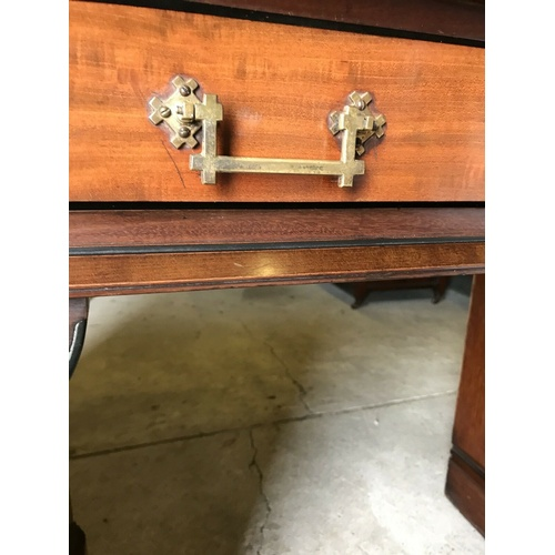 41 - Antique Pedestal Sideboard  Here is a very beautiful pedestal Sideboard.  Believed to be Mahogany it...
