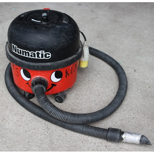 63 - 110v Numatic, (Henry Style), Vacuum Cleaner with hose and single end attachment....
