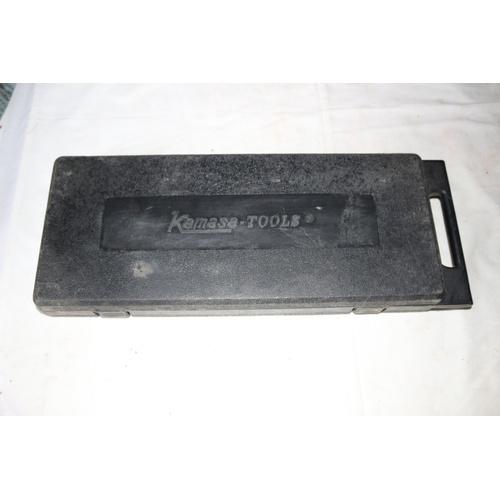 64 - Kamasa Tools - Socket Set in Case...