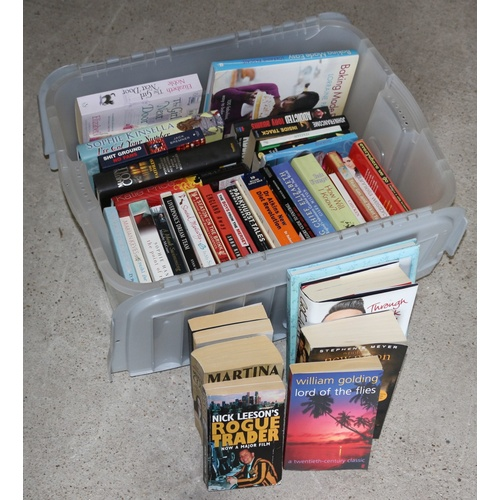 82 - Box Containing Mixed Genre Books...