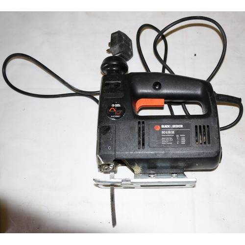 90 - Black & Decker Jigsaw - Model BD 538 SE - Working at time of Auction...
