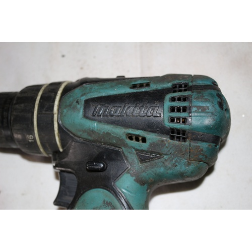 92 - Makita Battery Hand Drill - Model DHP 456 - No Battery but Working at time of Testing...