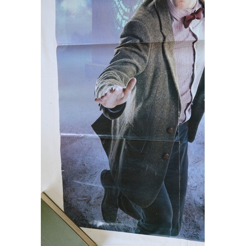 113 - Double Sided Doctor Who Poster - Matt Smith 2010 -14...