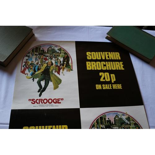 116 - #2 Scrooge Souvenir Brochure Play Poster...