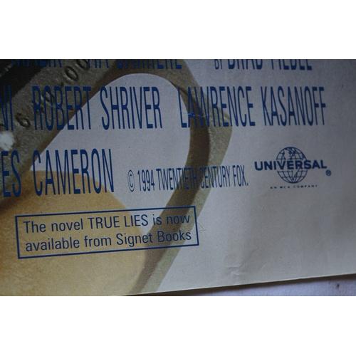 123 - True Lies Movie Poster - 1994...