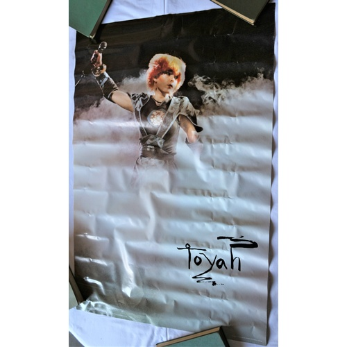 127 - Toyah Music Concert Promotional Poster - 1981...