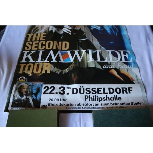 129 - 1985 Kim Wilde Teases & Dares Second Tour in Dusseldolf...